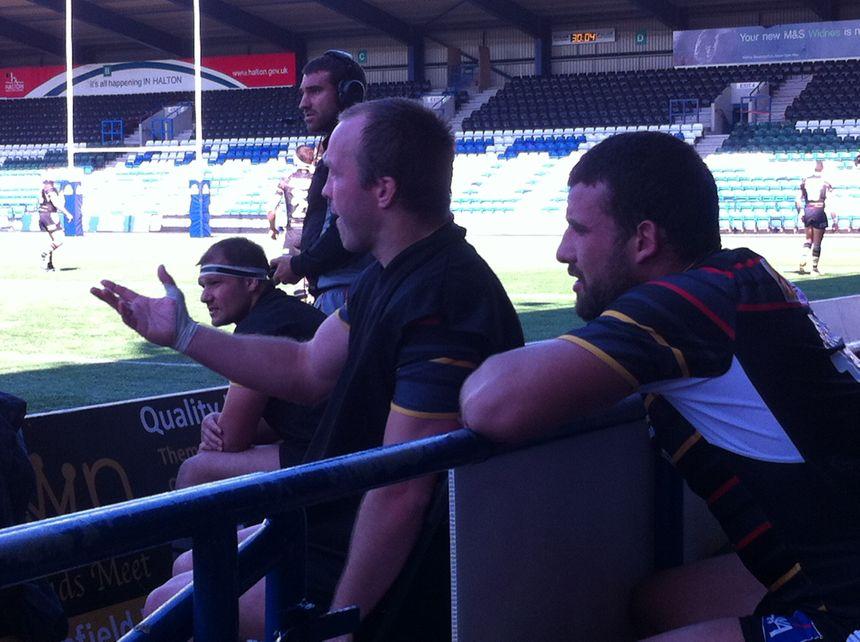 Ian Henderson, Anthony Maria sur le banc des Dragons Catalans