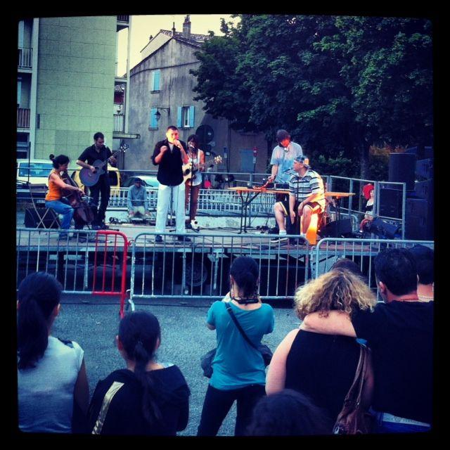 Emcee Killa à la fête de la musique à Valence le 21 juin 2013