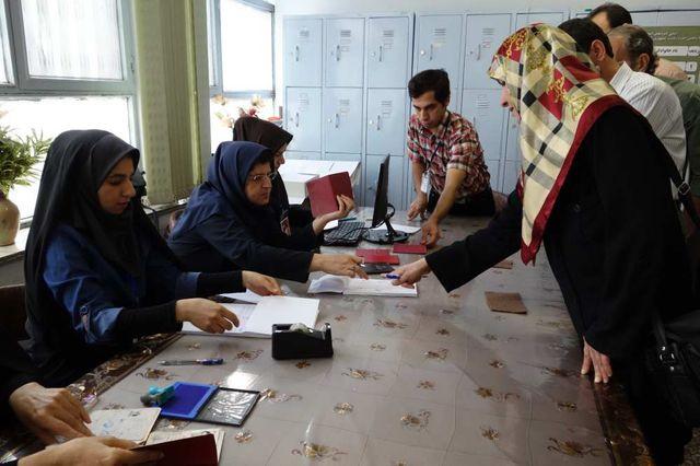 Ouverture des bureaux de vote
