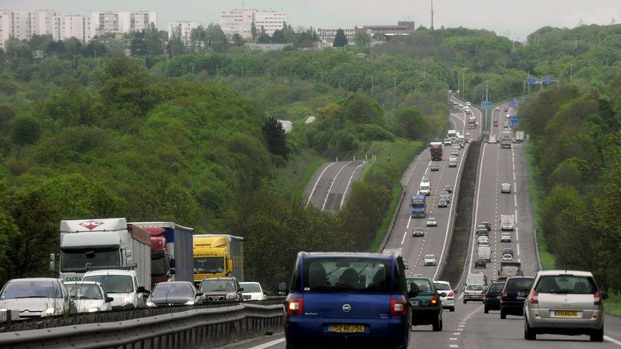A31 autoroute 2 voies péage