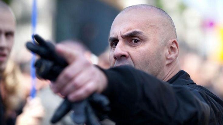 Serge Ayoub, le leader du groupuscule d'extrême droite Troisième Voie.