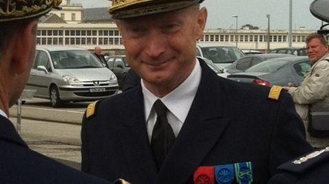 Emmanuel Carlier, préfet maritime de la Manche et de la Mer du Nord