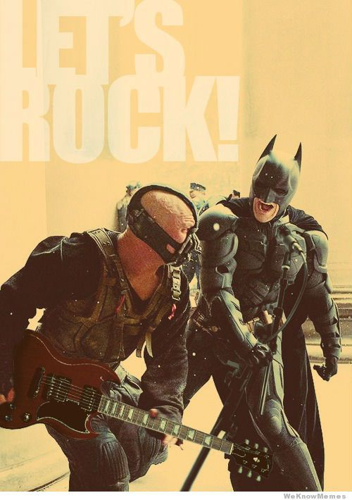 Batman let's rock