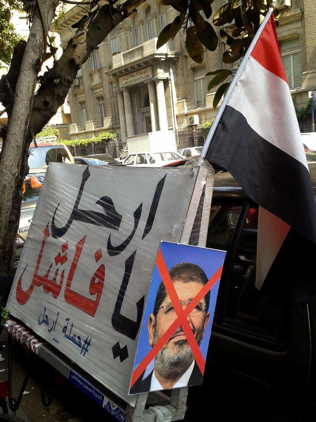 ...mais le président égyptien est loin de faire l'unanimité
