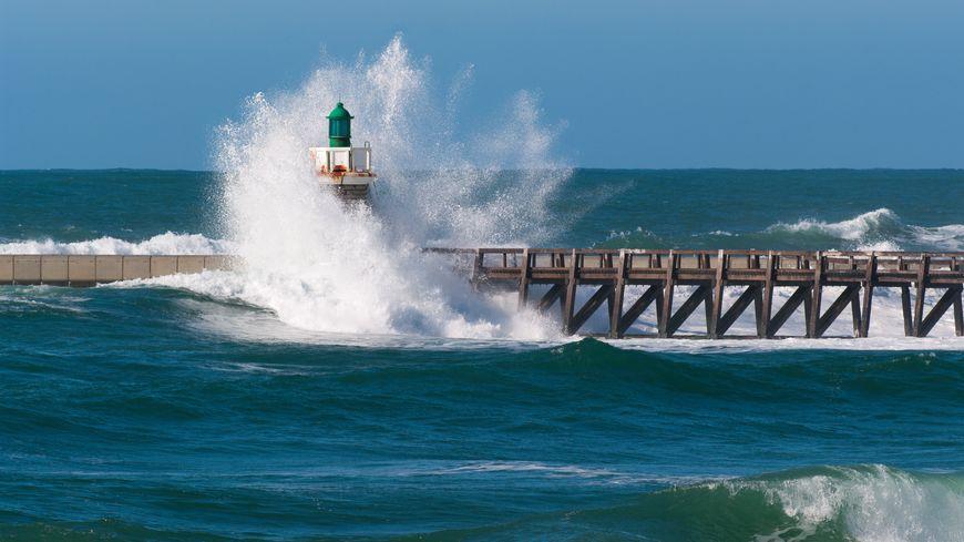 vagues à Capbreton