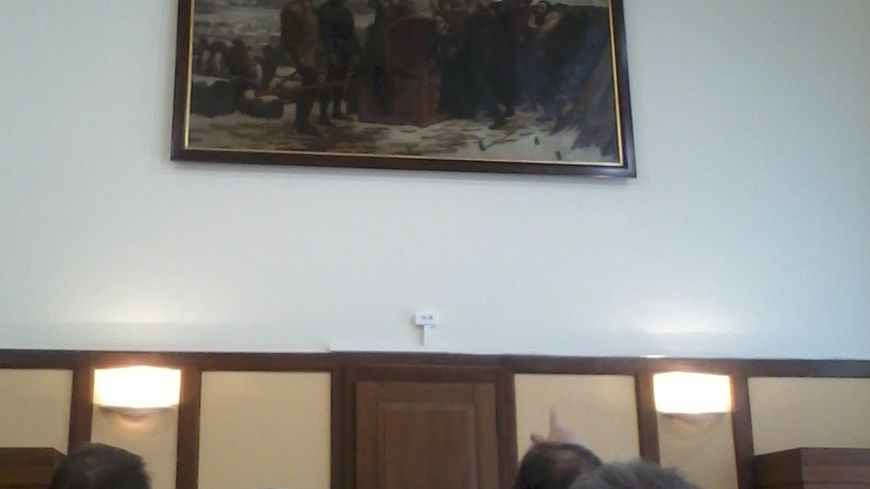 """La levée du siège de Metz en 1553"""" (copie de Léon-Charles Canniccioni d'après un tableau de Lucien-Etienne Mélingue) 2"""