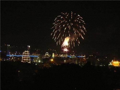 Armada 2013 : le premier feu d'artifices