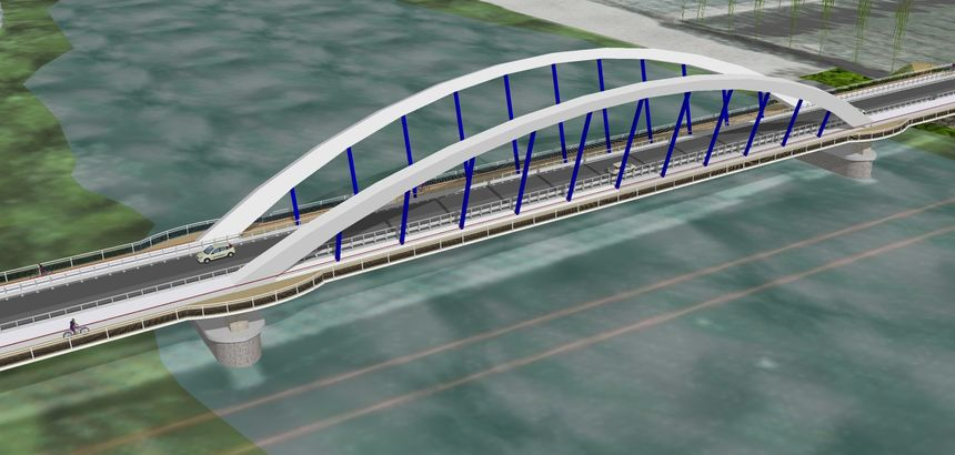 Maquette Pont Rapilly 1