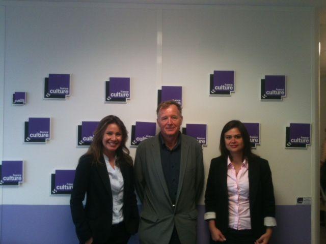 Liz Fere, Jean Pierre Langellier et Sylvia Capanema