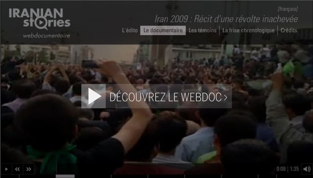 Iranian stories, un webdoc de Shadi Sanjabi, Stephanie Parfait, Thibault Lefèvre