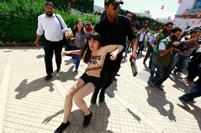 Femen à Tunis