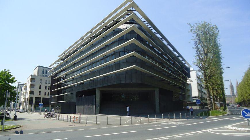 Le siège de la Cour d'appel de Caen où se déroulent les Assises du Calvados