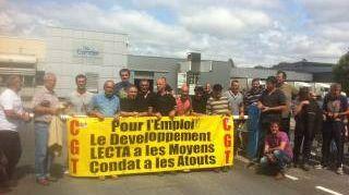 Condat : les syndicats se sont fortement mobilisés ces derniers mois