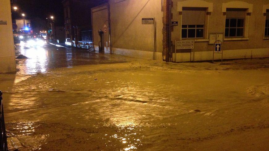 Inondations à Dizy