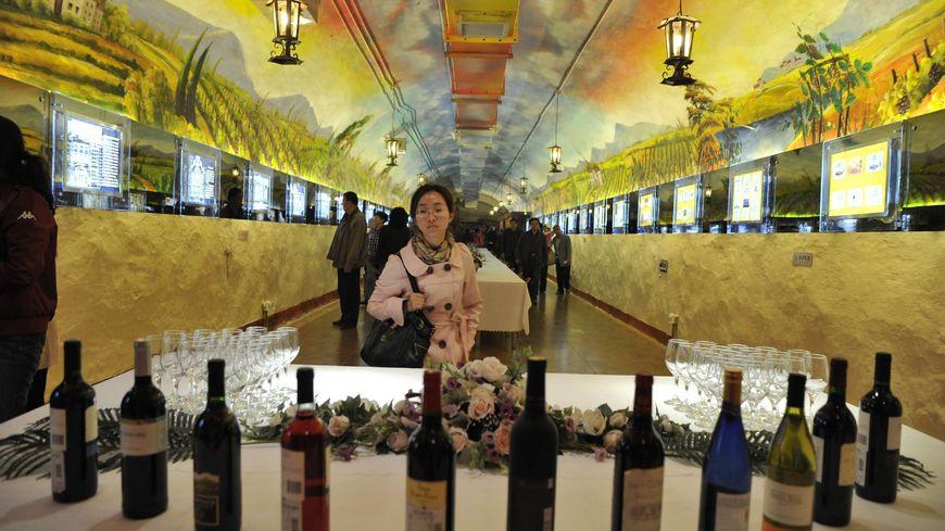 En 2012, la France a vendu 140 millions de litres de vin aux Chinois
