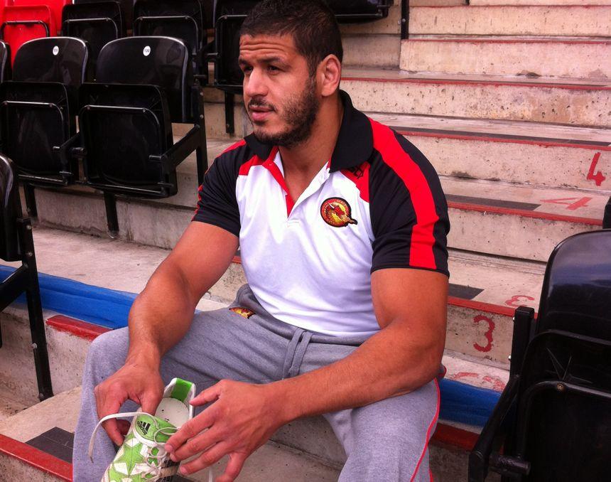 Jamal Fakir, joueur des Dragons Catalans