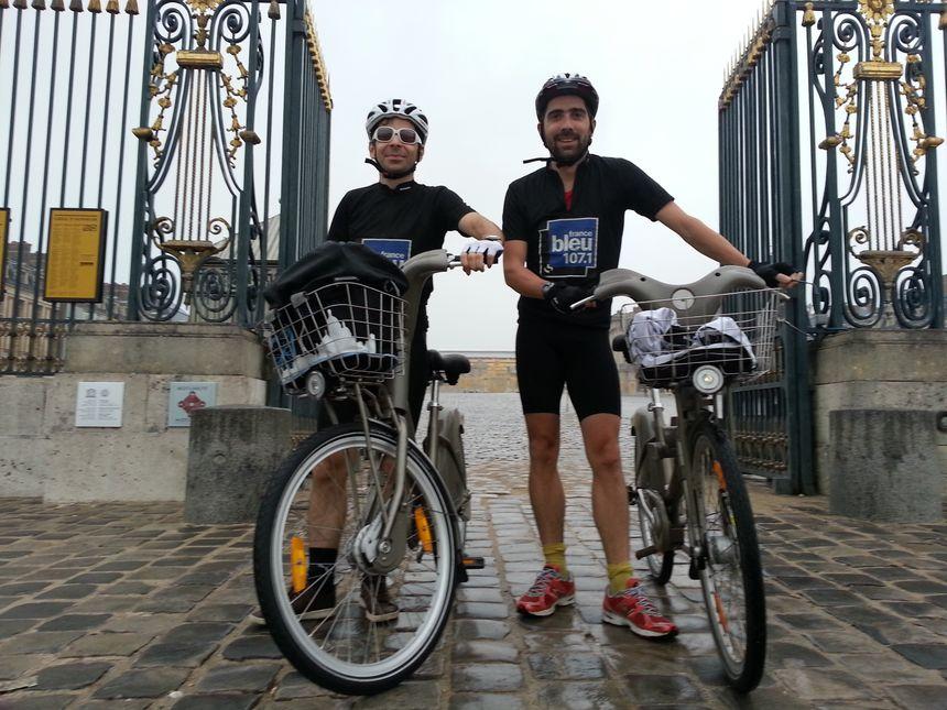 Vélib et Tours à Versailles ok