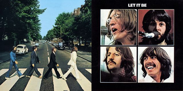 "The Beatles : ""Abbey Road"" et ""Let it be"""