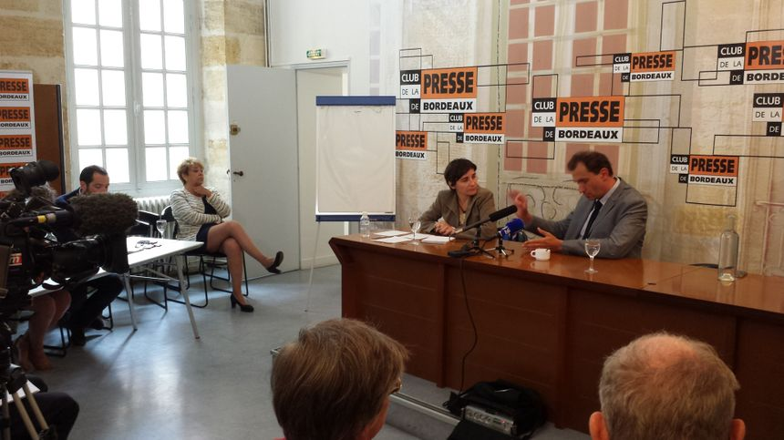 Le Club de la Presse de Bordeaux recevait Vincent Feltesse
