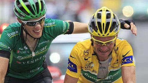 Pierre Rolland et Thomas Voeckler comptent bien se mettre encore en valeur sur le Tour de France après celui de 2012
