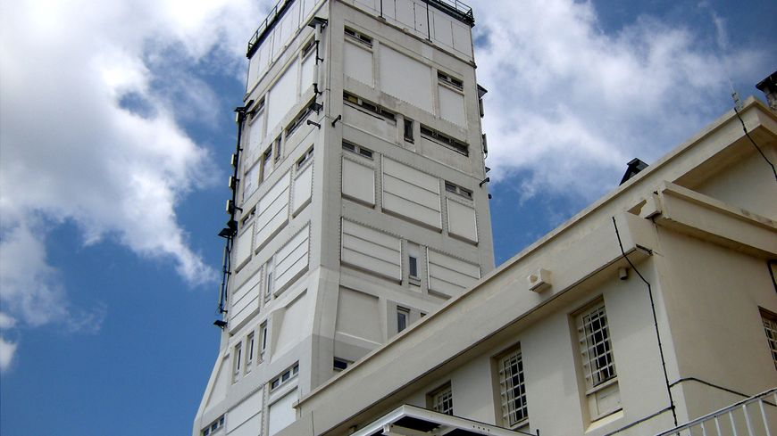 Mont Ventoux : l'antenne au sommet