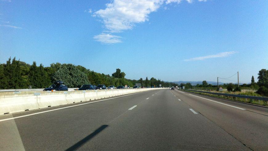 Autoroute A7 dans la Drôme