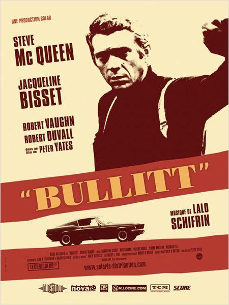 Affiche de Bullitt, Peter Yates, 1968
