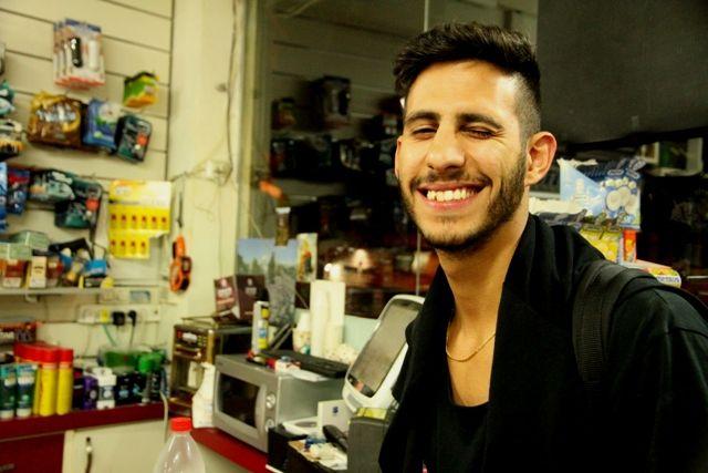 Rojeh dans le supermarché - Haïfa
