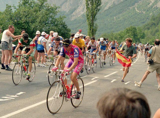 Indurain à l'Alpe D'Huez - Tour de France 1991