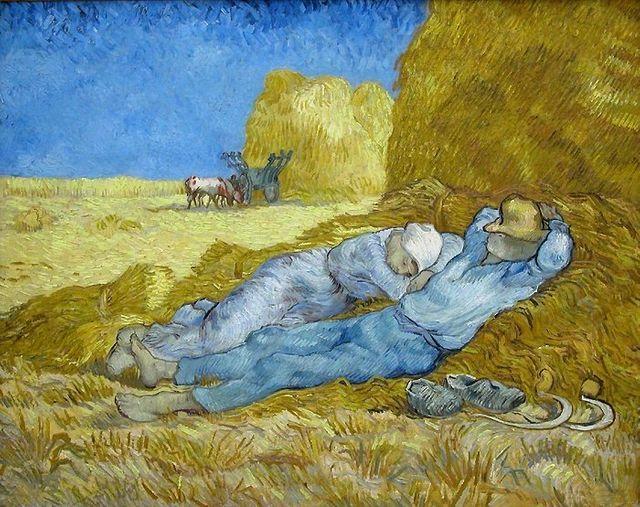 La sieste, Van Gogh