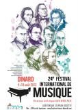 Affiche Festival international de musique de Dinard 2013