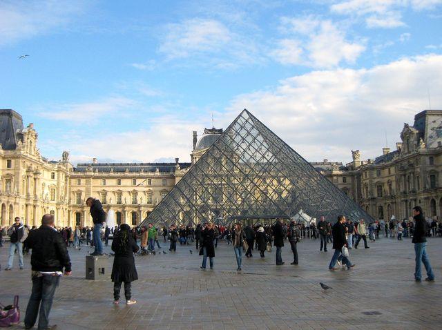 Louvre et Pyramide