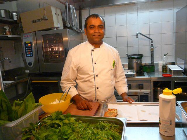 Suthan Suppiah  a découvert les saveurs des végétaux suisses.