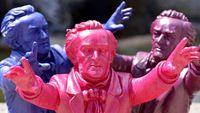Bayreuth : Invasion de nains de jardin à l'effigie de Wagner