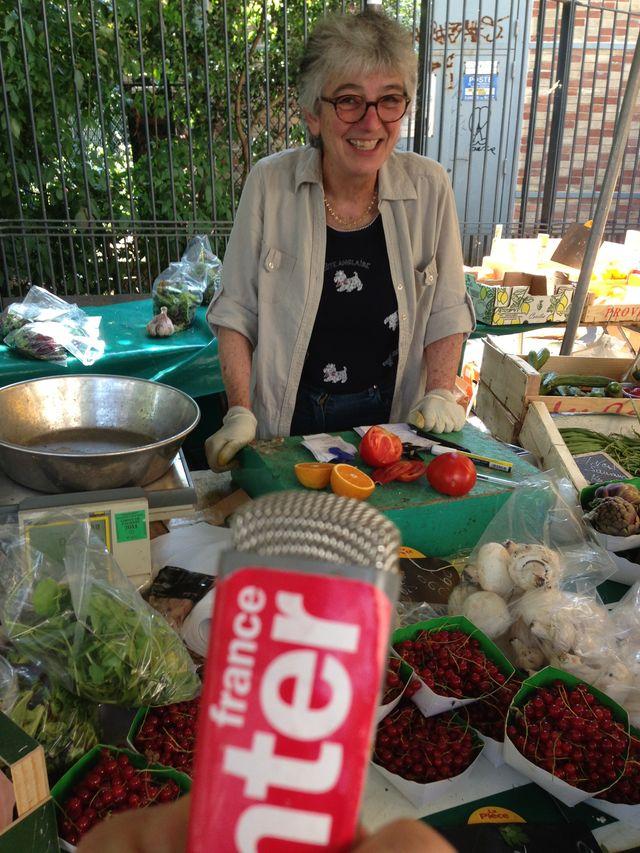 Martine au marché
