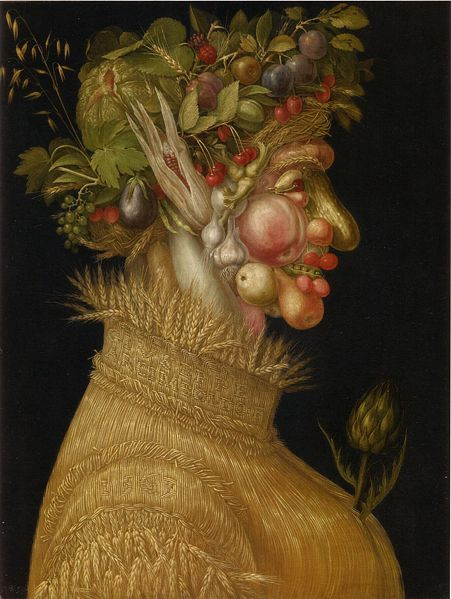 Giuseppe Alcimboldo, The Summer, 1563