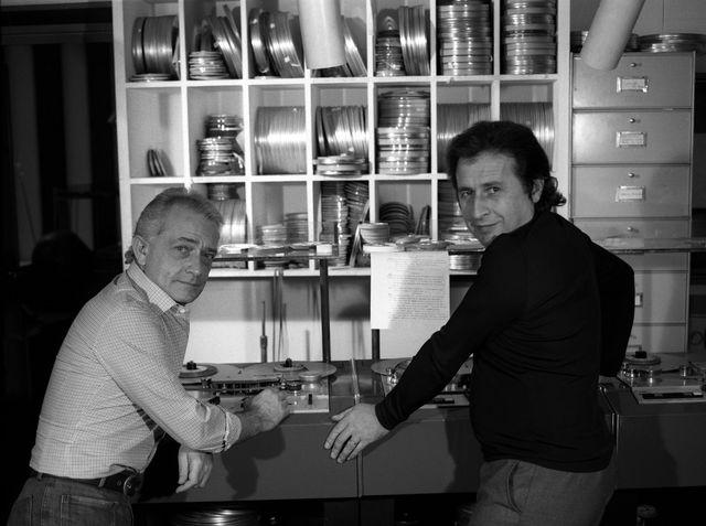 Jean Garretto et Pierre Codou, producteurs de l'Oreille en Coin