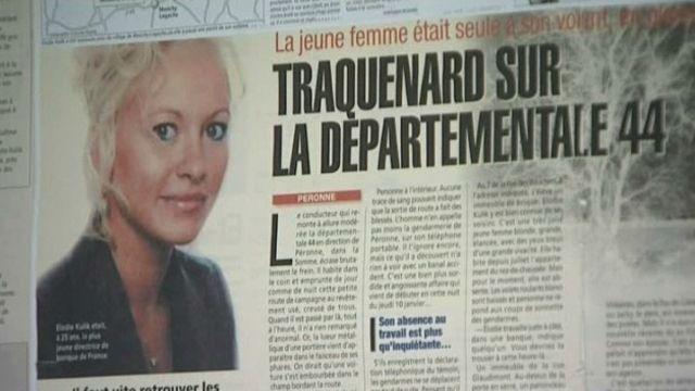 Coupure de presse de l'affaire Elodie Kulik
