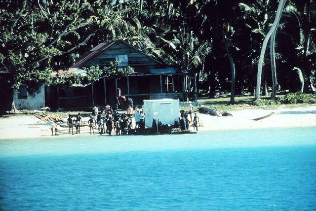 Equipement militaire américain sur les îles Chagos