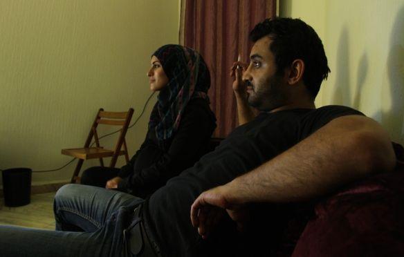 Serhane et sa femme