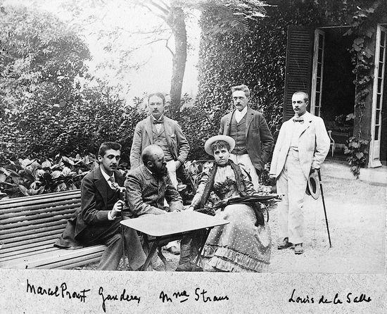 Marcel Proust et ses amis