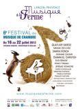 Affiche festival Musique à la ferme