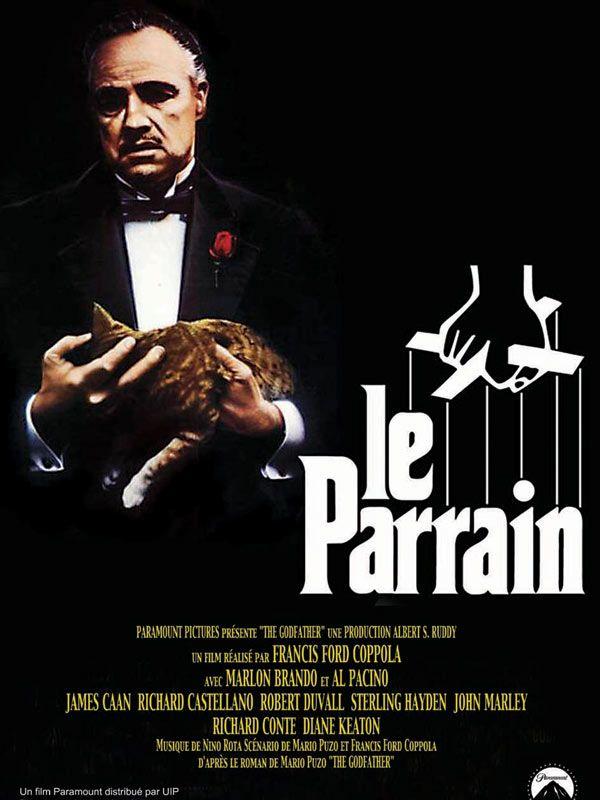 """Affiche du film """"Le Parrain"""""""