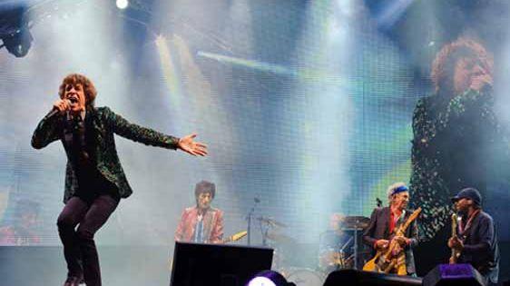 Les Rolling Stones en concert
