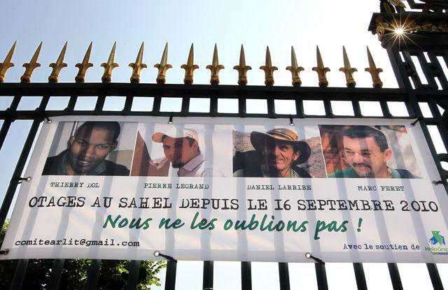 Des preuves de vie pour les quatres otages français