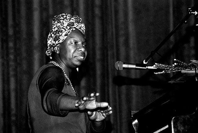 Nina Simone, Morlaix, 1982