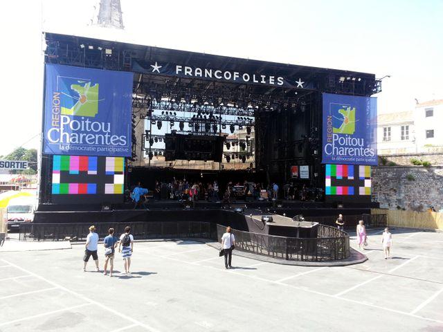 De retour des Francofolies 2013 - 2
