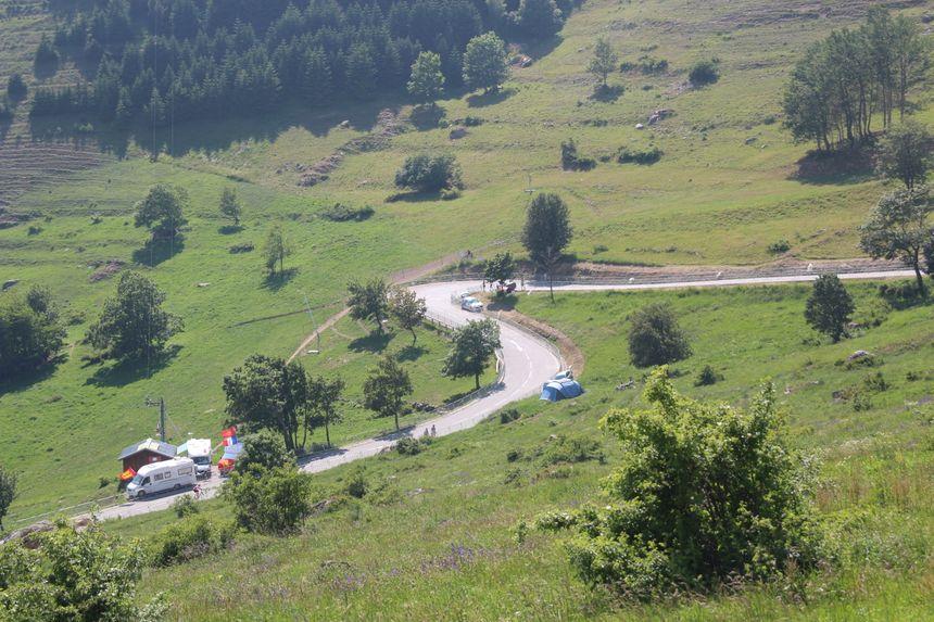 Le virage n°3 de l'Alpe d'Huez : l'un des meilleurs spots pour admirer le Tour de France