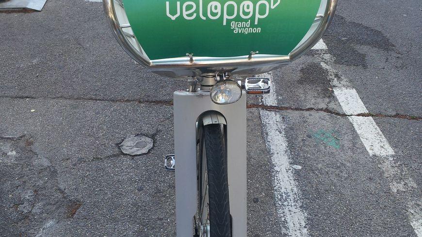 Vélopop à Avignon