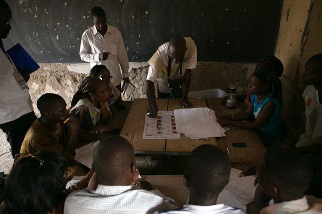 Début du dépouillement au Mali